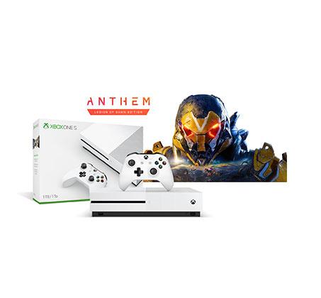 קונסולה Microsoft Xbox One S נפח 1TB+משחק Anthem Legion Of Dawn Edition וחבילת מייסדים Apex Legends - משלוח חינם - תמונה 2