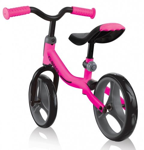 אופני איזון Go Bike עם מצבי גובה במושב ובכידון - ורוד - משלוח חינם - תמונה 3