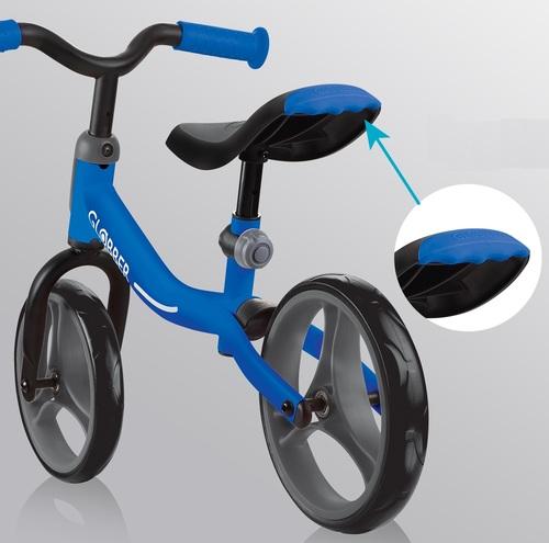 אופני איזון Go Bike עם מצבי גובה במושב ובכידון - ורוד - משלוח חינם - תמונה 5