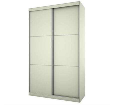 ארון הזזה 2 דלתות 160 דגם NOAM במגוון צבעים לבחירה