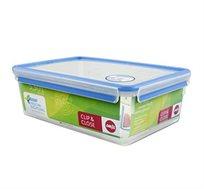 קופסת פלסטיק מלבנית אטומה 5.5 ליטר