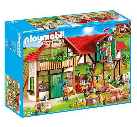 חווה גדולה PLAYMOBIL P6120 - משלוח חינם