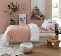 סט מצעים לחדרי ילדים ונוער 100% כותנה דגם פלנטה בגדלים לבחירה KITAN + מתנה