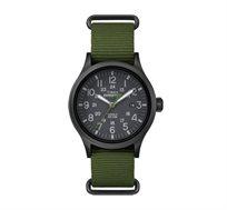 שעון יד אנלוגי לגבר עם תאורה עמיד במים עד 50 מטר TIMEX TS-4B047