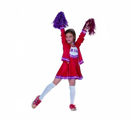 תחפושת לילדות מעודדת בצבעים לבחירה