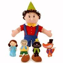 בובת יד פינוקיו ואחרים Fiesta Crafts