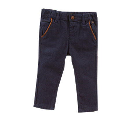 מכנס jacquard OVS לפעוטות - כחול