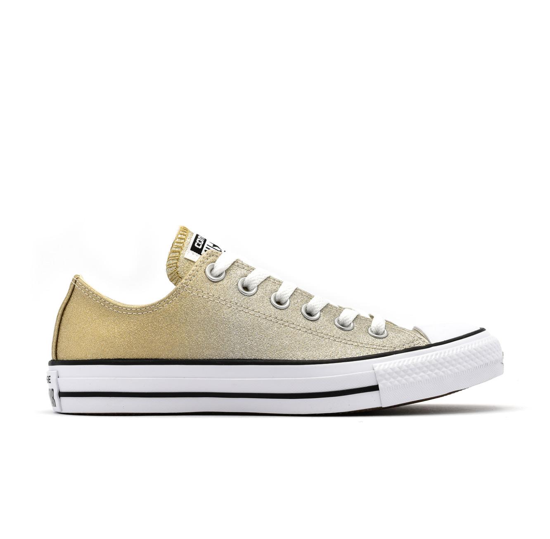 נעלי סניקרס All Star נמוכות לנשים - זהב
