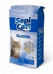 חול חצץ לחתול Sepicat ספיקט 10 ק''ג