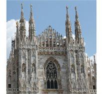 טיסה ורכב למילאנו לחופשות סקי ולחופשות בצפון איטליה החל מכ-$292*