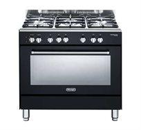"""תנור משולב כיריים 90 ס""""מ 5 להבות Delonghi דגם NDS932"""