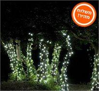 מוסיפים צבע לגינה, לבית ולמרפסת! שרשרת סולארית עם 50 או 100 נורות LED צבעוניות החל מ-₪69! משלוח מהיר