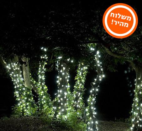נפלאות מוסיפים צבע לגינה, לבית ולמרפסת! שרשרת סולארית עם 50 או 100 נורות RV-39