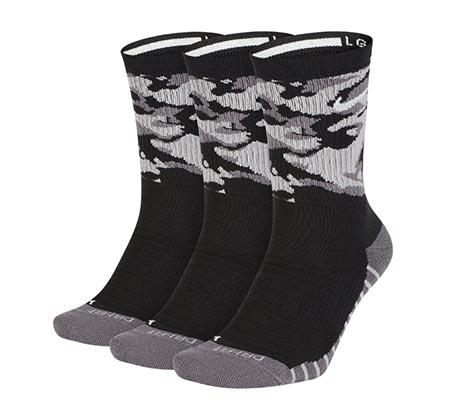 שלישיית גרבי יוניסקס - שחור/אפור