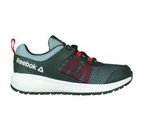 נעלי אימון Reebok לנוער דגם Road Supreme בצבע אפור כהה/אדום