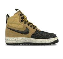 נעלי סניקרס אופנתיות לגבר NIKE LUNAR FORCE 1 DUCKBOOT 17 דגם 916682-701 בצבעי שחור/בז'