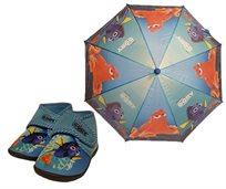 נעלי בית לילדים מותגים כולל מטריית סיליקון איכותית