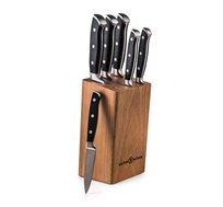 סט בלוק וסכינים 7 חלקים