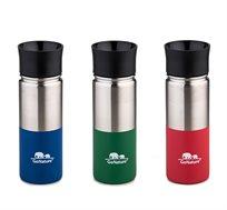כוס תרמית אקולוגית GO NATURE מבודדת שומר חום וקור  960ml במגוון צבעים לבחירה