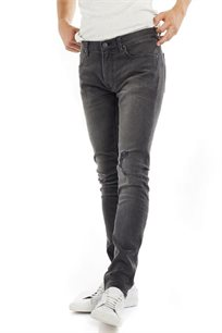 ג'ינס סקיני LEE LUKE לגברים בצבע אפור