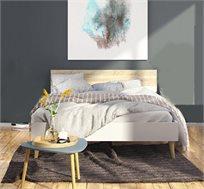 מיטה זוגית בעיצוב מודרני דגם DELTA