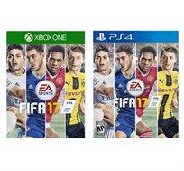 משחק FIFA 17 ל-XBOX ONE ול- PS4