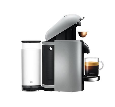 מכונת קפה NESPRESSO VertuoPlus בצבע כסוף דגם GCB2  - משלוח חינם - תמונה 4