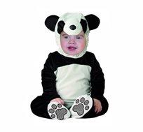 תחפושת לתינוקות בייבי פנדה הכוללת קפוצ'ון, סרבל ונעליים Baby panda