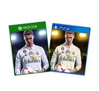 משחק FIFA 18 לפלייסטיישן 4 או XBOX ONE לבחירה