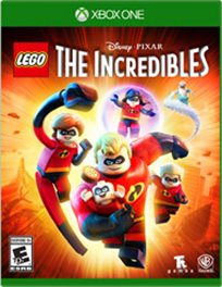 Lego The Incredibles Xbox One אירופאי! במלאי!