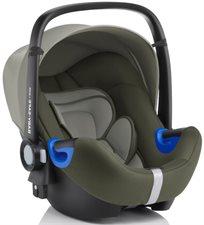 סלקל Baby Safe I-Size עם בסיס איזופיקס מתכוונן - ירוק זית
