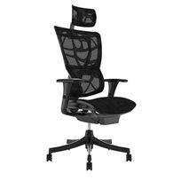 כיסא עבודה אורטופדי פרימיום Mirus עם משענת ראש