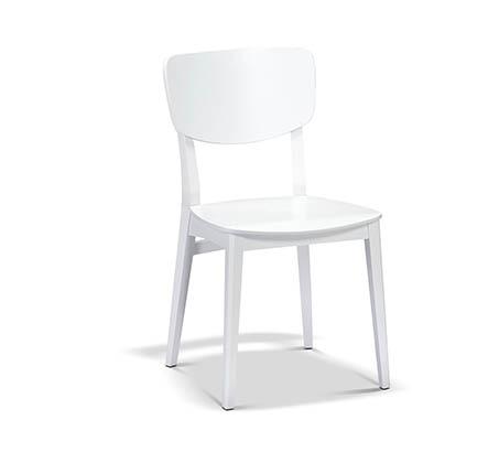 כיסא דגם סוון ביתלי בעיצוב רטרו מדליק בעל מבנה חסון העשוי עץ בוק תוצרת איטליה - משלוח חינם - תמונה 2
