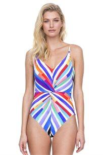 בגד ים שלם צבעוני לנשים