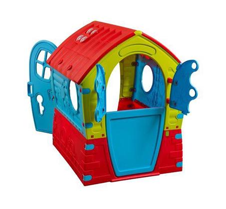 בית משחק צבעוני לילדים לבית ולחצר דגם פיות Palplay - משלוח חינם - תמונה 2