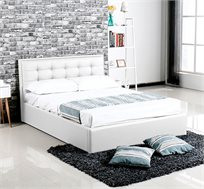 מיטה מעוצבת עם ארגז אחסון במבחר גדלים דגם אלסינה