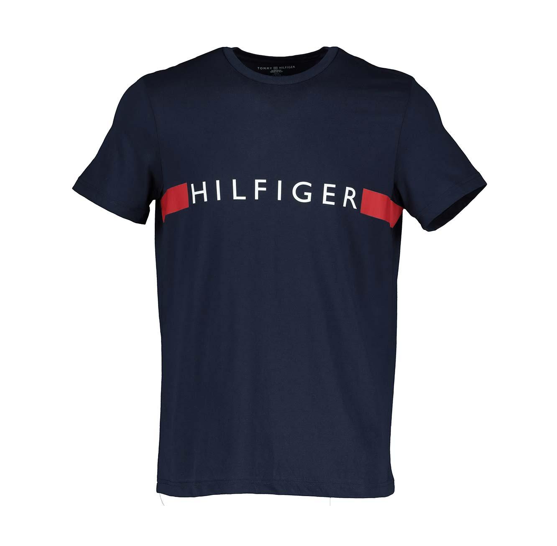 חולצת טי שירט לגברים צוורון עגול TOMMY HILFIGER - במגוון צבעים