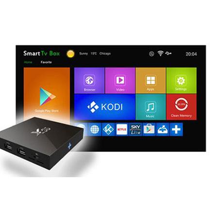 סטרימר Android 6.0 Tv Box זיכרון RAM 2GB זיכרון אחסון 16GB כולל Kodi מובנה