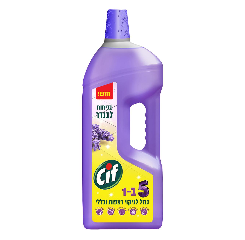 מארז 2 נוזל לניקוי רצפות וכללי במגוון ניחוחות Cif  - תמונה 3