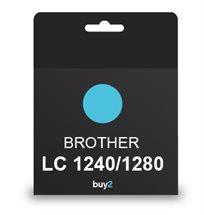 על איכות לא מתפשרים! ראש דיו תואם BROTHER LC 1240/1280 צבע כחול, דיו איכותי למדפסת