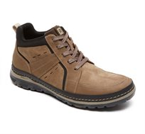נעלי גברים איכותיות ונוחות Rockport דגם Activflex Rcspt Lthr Boot Vicuna