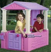 בית משחק לילדים 'בית החלומות' עם גג ופעמון