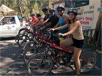 טיול Extreme Ride - אופני שטח חשמליים ללא מאמץ ברפטינג נהר הירדן