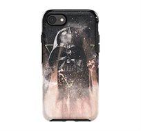 כיסוי דיסני מלחמת הכוכבים ל iPhone 7/8 דגם Sym.DarthVade בצבע שחור מודפס