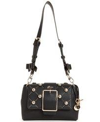 GUESS// CAROLINE SHOULDER BAG BLACK