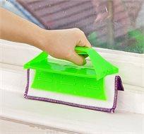מנקה מסילות ומשטחים מקצועי מתאים למסילות, לחלונות ומראות