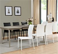 פינת אוכל כוללת שולחן ו4 כסאות דגם CASTOR