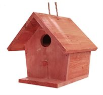 תיבת קינון לציפורי שיר ובר קטנות למרפסת ולגינה טיפות טבע