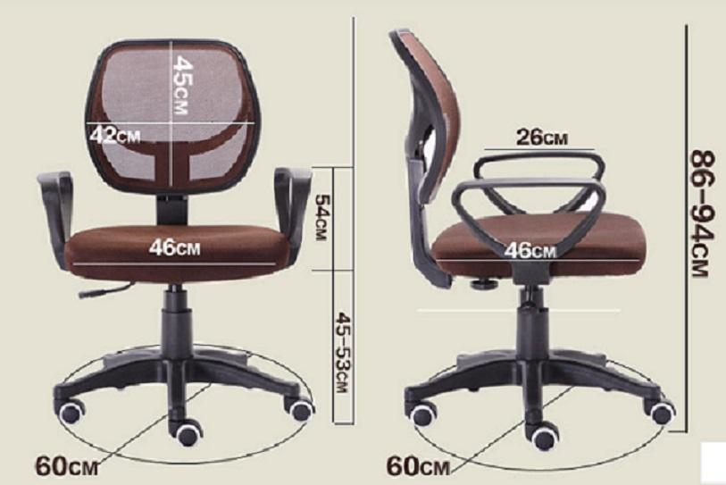 כיסא רשת עם מנגנון הגבהה ונדנוד עם משענות לידיים בגוונים לבחירה - משלוח חינם - תמונה 7
