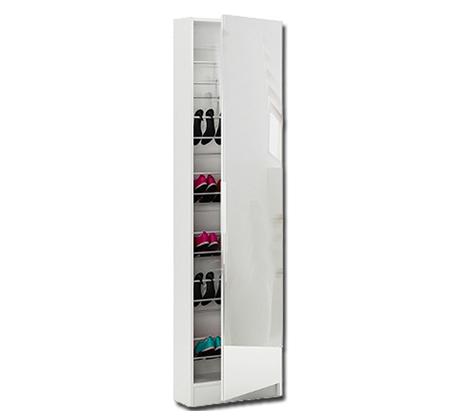 ארון נעליים בעל נפח אחסון ענק עם דלת מראת חזית לכל אורך הארון HOMAX - תמונה 8